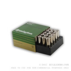 500  Rounds of .38 Spl +P Ammo by Remington - 125gr JHP