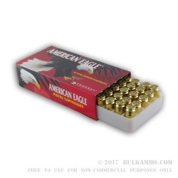 1000 Rounds of .40 S&W Ammo by Federal American Eagle - 165gr TMJ