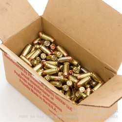 250 Rounds of .40 S&W Ammo by BVAC - Remanufactured - 180gr CPHP