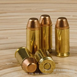 250 Rounds of .40 S&W Ammo by Magtech - 180gr FMJ