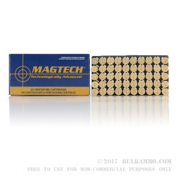 50 Rounds of .44 Mag Ammo by Magtech - 240gr SJSP