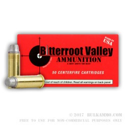 50 Rounds of .357 Mag Ammo by BVAC - 158gr LSWC