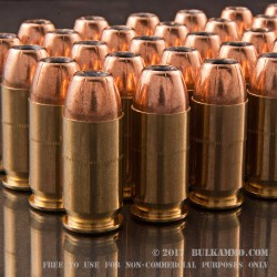 1000 Rounds of .45 ACP Ammo by Federal - 230gr JHP