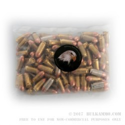 1000 Rounds of .45 ACP Ammo by MBI - 185gr FMJ