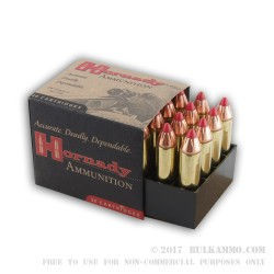 20 Rounds of .460 S&W Ammo by Hornady - 200gr FTX