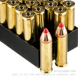 20 Rounds of .500 S&W Mag Ammo by Hornady - 300 gr FTX
