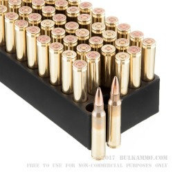 50 Rounds of 5.56x45 Ammo by Black Hills Ammunition - 77gr OTM Mod 1