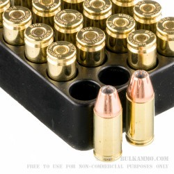 20 Rounds of 9mm Ammo by Black Hills Ammunition - 124gr JHP