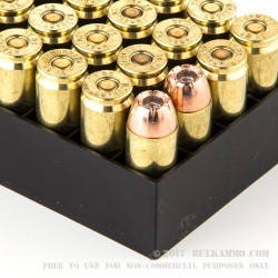 200 Rounds of .50 AE Ammo by Hornady - 300 gr JHP