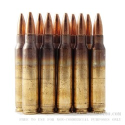 100 Rounds of 5.56x45 Ammo by Federal - 55gr FMJBT