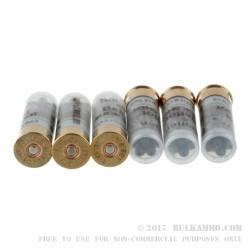 10 Rounds of 12ga Ammo by Sellier & Bellot - 1 1/4 ounce #4 Buck