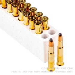 20 Rounds of 30-30 Win Ammo by Fiocchi - 170gr FSP
