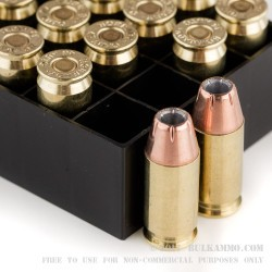 20 Rounds of .45 ACP Ammo by Hornady - 200gr JHP