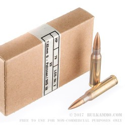 240 Rounds of .308 Win Ammo by Hirtenberger - 146gr FMJ