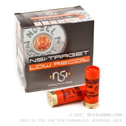 250 Rounds of 12ga Ammo by NobelSport - 1 ounce #8 shot