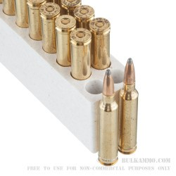 20 Rounds of 7mm Rem Mag Ammo by Winchester - 150gr PP