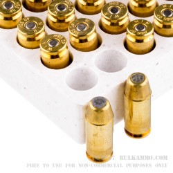 50 Rounds of .40 S&W Ammo by Winchester - 165gr BEB