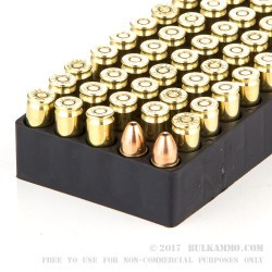 50 Rounds of 9mm Ammo by Magtech Clean Range - 124gr FEB