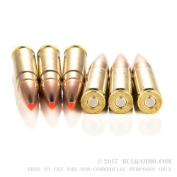 20 Rounds of .300 Whisper Ammo by Hornady - 208gr A-MAX Match