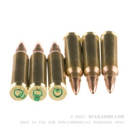 1000 Rounds of 5.56x45 Ammo by CBC - 77gr OTM