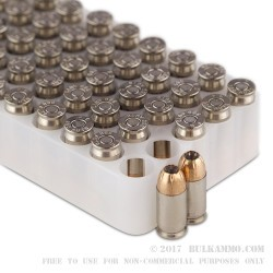 50 Rounds of .380 ACP Ammo by Federal HST - 99gr JHP