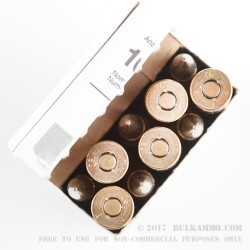 10 Rounds of 7.5x55mm Swiss Ammo by RUAG Munitions - 174gr FMJBT
