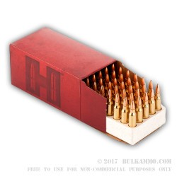 50 Rounds of .223 Ammo by Hornady - 52gr HPBT