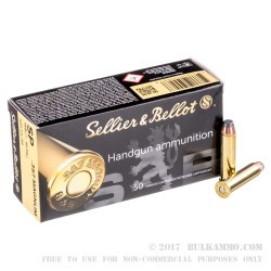 50 Rounds of .357 Mag Ammo by Sellier & Bellot - 158gr SP