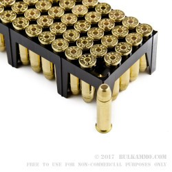 50 Rounds of .38 Spl Ammo by Sellier & Bellot - 158gr FMJ