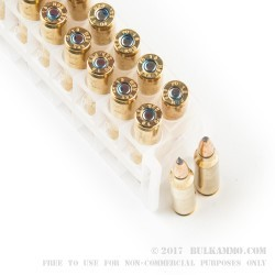 20 Rounds of .223 Ammo by Federal Power-Shok - 64gr SP