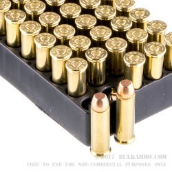 1000 Rounds of .38 Spl Ammo by Magtech - 130gr FMJ