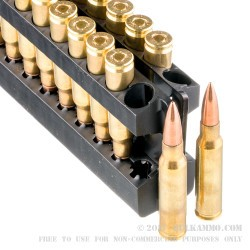 500 Rounds of 7.62x51mm Ammo by Aguila - 150gr FMJ