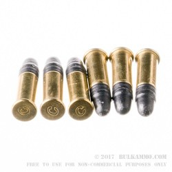 50 Rounds of .22 LR Standard Velocity Ammo by CCI - 40gr LRN