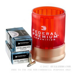 22 LR - 40 Grain LRN - Federal Can Cooler Combo - 1000 Rounds
