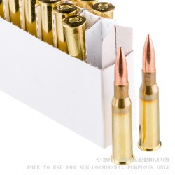 500  Rounds of 7.62x54r Ammo by Prvi Partizan - 182gr FMJBT