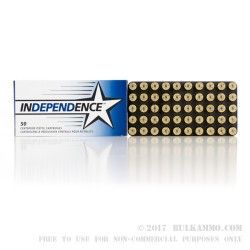 350 Rounds of 9mm Ammo by Independence in Plano Can - 115gr FMJ