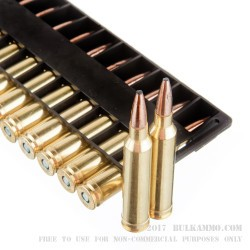 20 Rounds of 7mm Rem Mag Ammo by Federal - 175gr Fusion