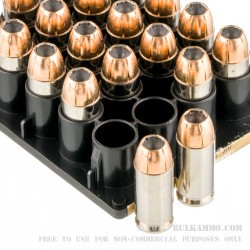 20 Rounds of .40 S&W Ammo by Federal - 180gr HST JHP
