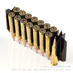 500  Rounds of .223 Ammo by Federal - 50gr Polymer Tipped Boat Tail