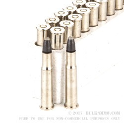 20 Rounds of 30-30 Win Ammo by Winchester Ballistic Silvertip - 150gr Polymer Tip
