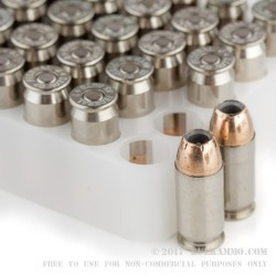 1000 Rounds of .45 ACP Ammo by Federal Hydra Shok - 185gr JHP +P