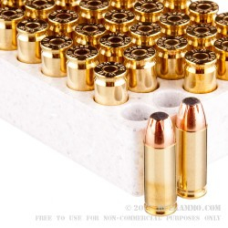 50 Rounds of 9x23mm Winchester Ammo by Winchester USA - 124gr JSP