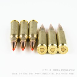 20 Rounds of 7mm-08 Ammo by Hornady - 120gr SST