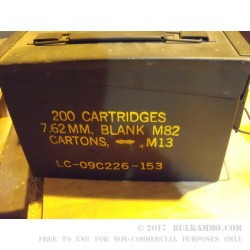 1 Surplus 50 Cal Ammo Can  - Black