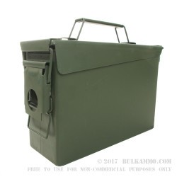 Mil Spec Ammo Can - 30 Cal M19 - Green - New -16