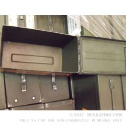 1 Surplus 50 Cal Ammo Can - Green - Used