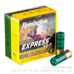 """250 Rounds of 12ga Ammo by Remington -  2-3/4"""" 1-1/8 Ounce #5 shot"""