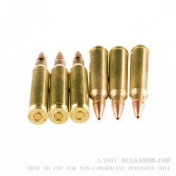 20 Rounds of .223 Ammo by Hornady - 50gr GMX