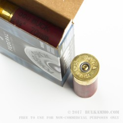 250 Rounds of 12ga Ammo by Federal Power-Shok -  000 Buck