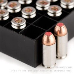 20 Rounds of .40 S&W Ammo by Hornady Critical Duty - 175gr JHP